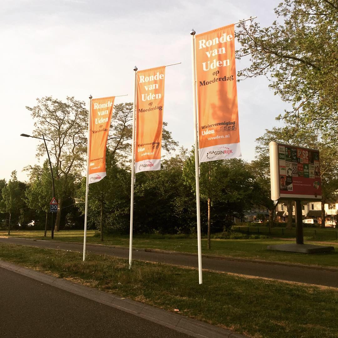 Heb jij de vlaggen van de Ronde van Uden al gespot ?